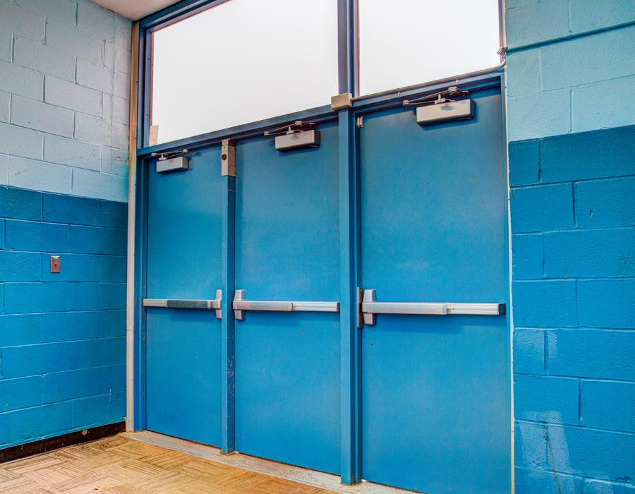 Sunrise Door Solutions is a locally operated business that strives to provide its clients with a personal and customized experience. & Great Neck High School | Sunrise Door Solutions